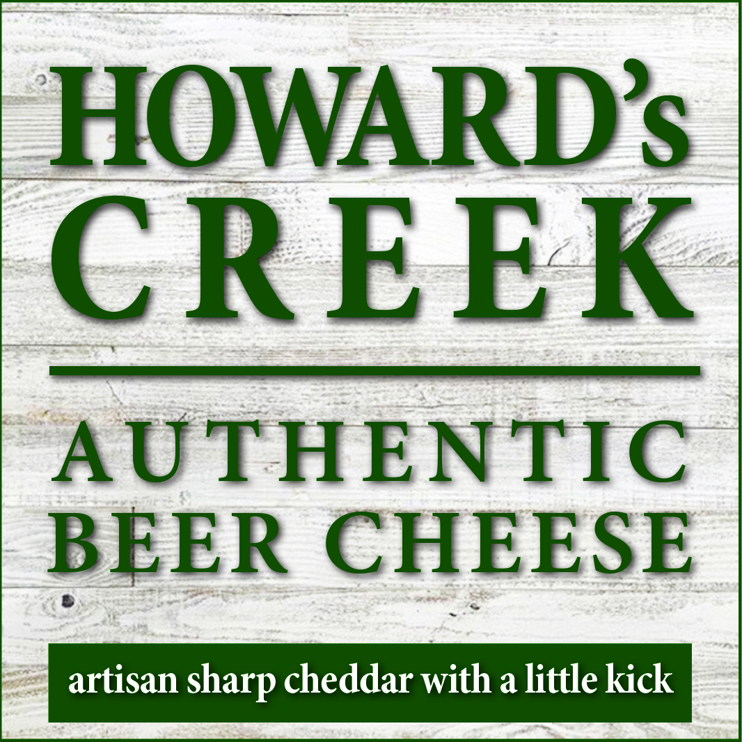 Howard's Creek Authentic Beer Cheese logo